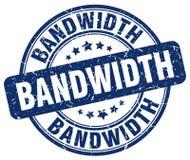 bandwidth błękita znaczek royalty ilustracja