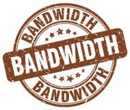 bandwidth brązu znaczek royalty ilustracja
