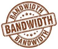 bandwidth brązu znaczek ilustracja wektor