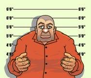 Bandyta i gangster ilustracja wektor