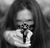 bandyta pistolet Obrazy Royalty Free