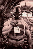 Bane Character at San Diego Comic Convention International 2014 Stock Photo