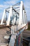 Baneasa train bridge Royalty Free Stock Photography