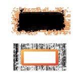 baner vektor illustrationer