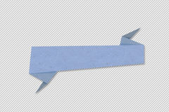 Baner eller etikett, pappers- design för rengöringsduken, klistermärkear, etiketter Arkivbilder