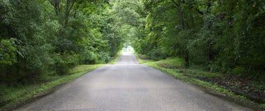 Baner för landsväg, panorama som är panorama-, bakgrund Arkivbilder