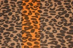 Baner för leopardtrycktappning Royaltyfria Bilder