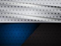 Baner för metallmallreklamblad Arkivfoton