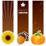 Baner för tacksägelsedaglodlinje royaltyfri illustrationer