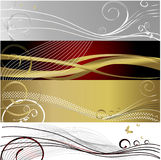 Baner Floral Background Stock Photos