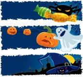 baner halloween Royaltyfria Foton
