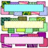 baner hopplockade tre Arkivbild