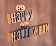baner lyckliga halloween Royaltyfri Fotografi