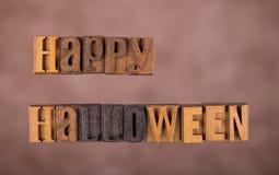baner lyckliga halloween Arkivbild