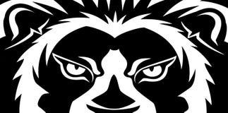 Baner med ett lejon royaltyfri illustrationer