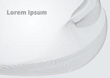 Baner med virvel vektor illustrationer