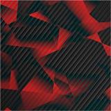 Baner och fyrkanter för vektor 3d Design Royaltyfri Fotografi