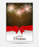 Baner och kort för julsnöflingaWebsite Royaltyfria Bilder