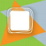 Baner på en bakgrund av trianglesBanner på en bakgrund av trianglar från sömlös modellbakgrundsvektor vektor illustrationer