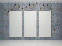 Baner på väggen Royaltyfria Bilder