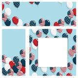 baner USA Royaltyfri Fotografi