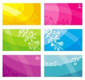 baneraffärskort Royaltyfria Bilder