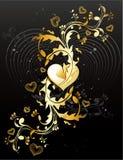 banerförälskelsevektor Royaltyfri Fotografi