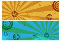 banergrunge vektor illustrationer