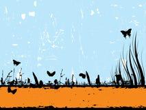 banergrunge Arkivbild