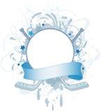 banerhockey royaltyfri illustrationer