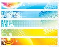 banerrengöringsduk stock illustrationer