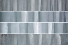 Baners dei ghiaccioli Fotografie Stock