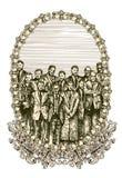 banersamhälle Royaltyfri Bild