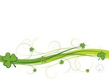 banershamrockswirls stock illustrationer
