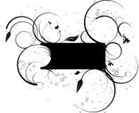 banerspiral Arkivbild