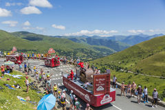 Banette Caravan - Tour de France 2014 Stock Photo