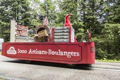 Banette pojazd - tour de france 2014 Zdjęcie Royalty Free