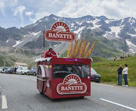 Banette pojazd - tour de france 2014 obraz royalty free