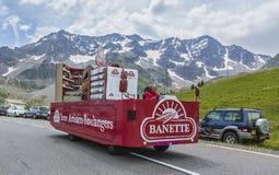 Banette pojazd - tour de france 2014 zdjęcie stock