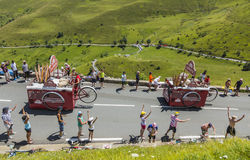 Banette Vehicles - Tour de France 2014 Stock Images