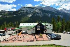 Banff亚伯大,加拿大 图库摄影