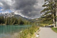 banff加拿大自然公园 图库摄影