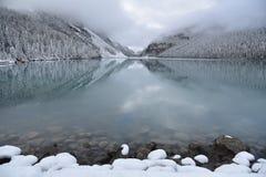 banff加拿大Lake Louise国家公园 库存照片