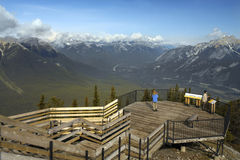 Banff国家公园-亚伯大-加拿大 库存照片