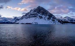 banff łęku jeziora park narodowy Fotografia Royalty Free
