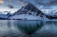 banff łęku jeziora park narodowy Zdjęcie Stock