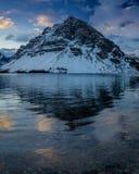 banff łęku jeziora park narodowy Zdjęcie Royalty Free