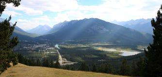 Banff, Альберта, Канада Стоковое фото RF