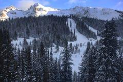 Banff, ландшафт зимы Канады Стоковое Фото