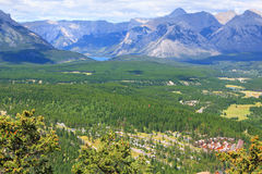 Banff Stockbild